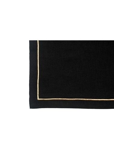 Golden Table Masa Örtüsü Siyah